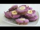 Blackberry Mini Cheesecakes by