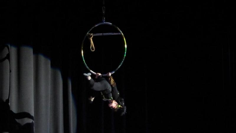 Номер кольцо в отчетном концерте замечательного ШОУ БАЛЕТА Натальи и Анастасии Бизяевых.Спустя 20 лет ,решила восстановить номер