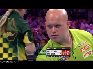Michael van Gerwen vs Simon Whitlock (PDC World Matchplay 2017 / Round 2)