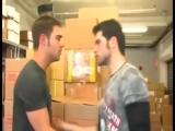 Gay kiss scene - gay short movie