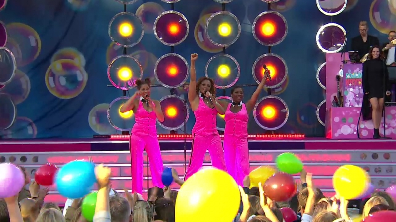 Gladys del Pilar Blossom Tainton and Jessica Folcker Motown medley Sommarkrysset 24 06 2017