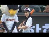 170831 Lovelyz Jiae&Mijoo Basaball Ceremony Hanhwa Eagles