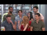 Entertainment Tonight Shadowhunters Cast Interview - Live from San Diego Comic Con