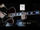 A Child Is Born - Jazz Guitar Chord Harmonization - Chord Shapes - Easy version