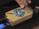 Z-Vex SUPER HARD ON boost drive guitar effects pedal demo