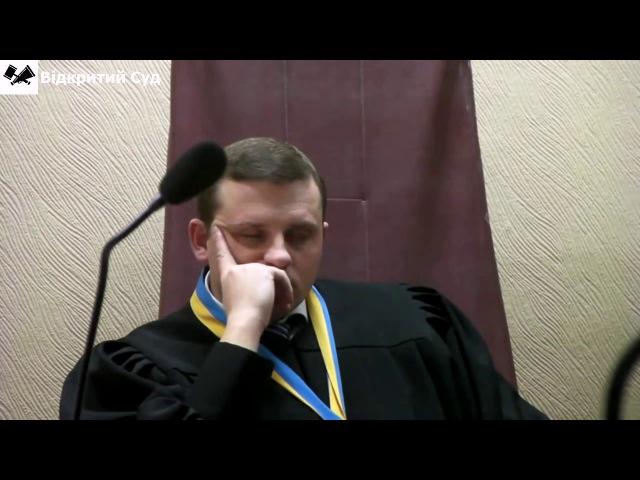 В Харківській області суддя заснув на засіданні
