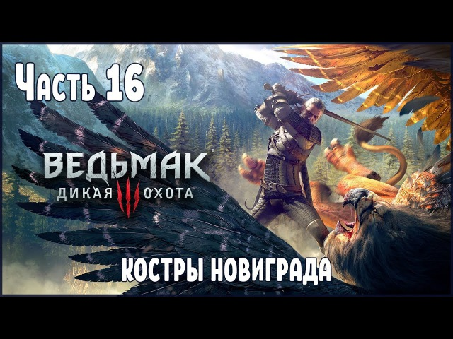 Прохождение Ведьмак 3 Дикая Охота №16 Костры Новиграда