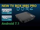 Mecool M8S PRO Android 7.1 TV Box Amlogic S912 3GB DDR4 RAM 16GB ROM