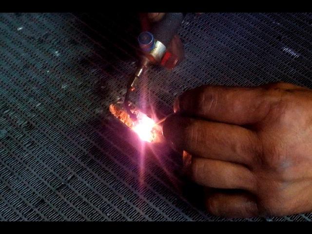 Пайка радиатора ремонт дырки