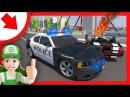 Мультики про Машинки. Полицейские делают облаву на преступника. Новый мультфиль...
