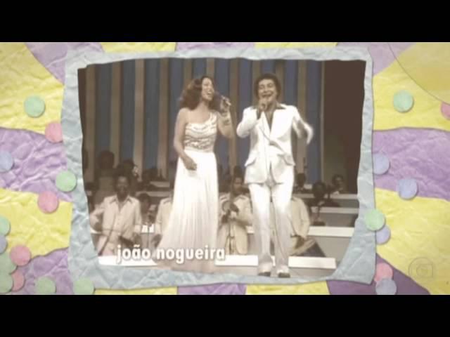 CLARA NUNES E JOÃO NOGUEIRA NO 5° FESTIVAL DA MÚSICA DE JUIZ DE FORA 1972