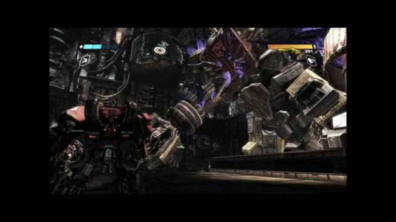 Прохождение игры Трансформеры Битва за Кибертрон часть 8