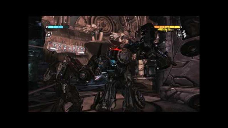 Прохождение игры Трансформеры Битва за Кибертрон часть 3