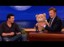Seth MacFarlane's Ted R-Rated Teddy Bear Malfunctions - CONAN on TBS