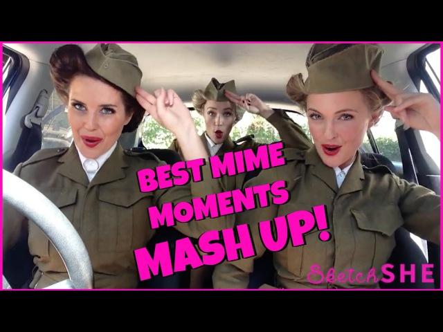 BEST MIME MOMENTS MASH UP | SketchSHE