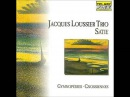 Jacques Loussier Trio plays Erik Saties Gymnopedie No. 1