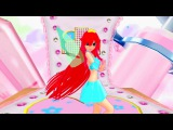 Винкс клуб Блум Танец под музыку Хатсуне Мику Красивая анимация Мультики для де ...