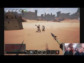 Conan Exiles - Dev Stream 4 - Combat, PvP, and Avatars!