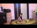 Полина Комова 2008гр. Разминка по художественной гимнастике. Часть 1.