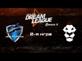 Vega vs Ad Finem #2 (bo2) | DreamLeague Season 6, 03.11.16
