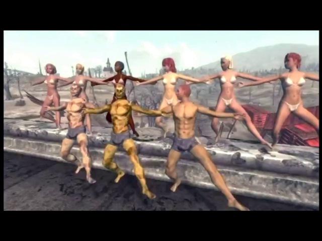 Пр Лебединский Fallout 3 Я танцую Пародия на O Zone Pr Lebedinsky I'm dancing