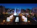 Київ Майдан Незалежності. Танцюючі фонтани 2017. ACDC - Thunderstruck HD 720p