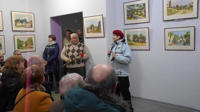 25.2.2017 Крым. Феодосия. Выставка акварелей Аркадия Малышева (4)