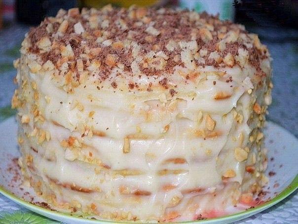 Творожный торт на сковородке Тесто 1 яйцо 200 гр творога 1