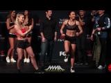 Пэйдж ВанЗант на взвешивании UFC on FOX 22 - Paige VanZant vs. Michelle Waterson