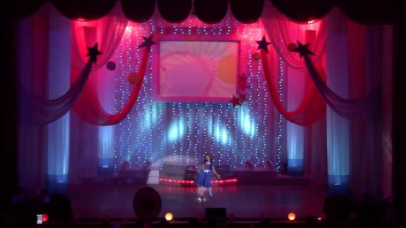 1-й год соло Оля Иванова с песней Почему Образцовая вокально-эстрадная студия Созвездие