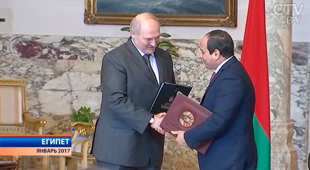 Министр иностранных дел Египта свизитом в Беларуссии