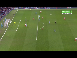 Манчестер Сити 1:1 Монако | Гол Фалькао