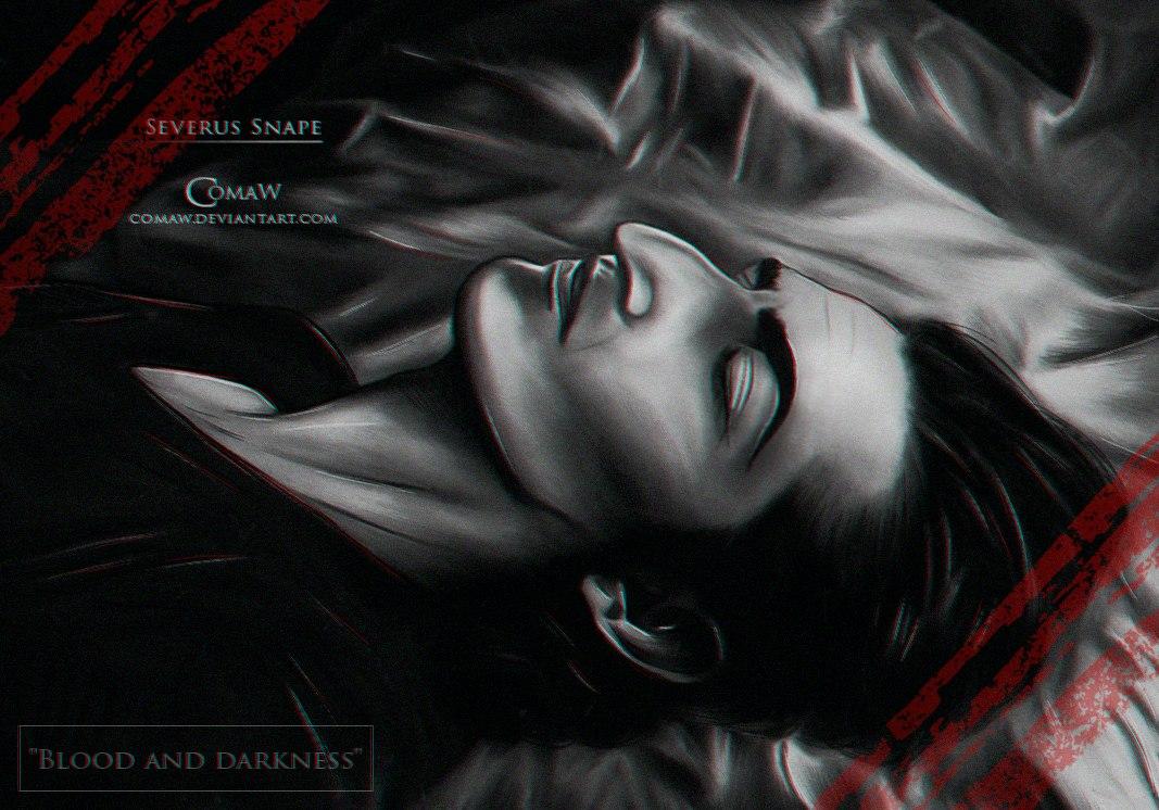 """Арт-серия """"Кровь и тьма"""""""