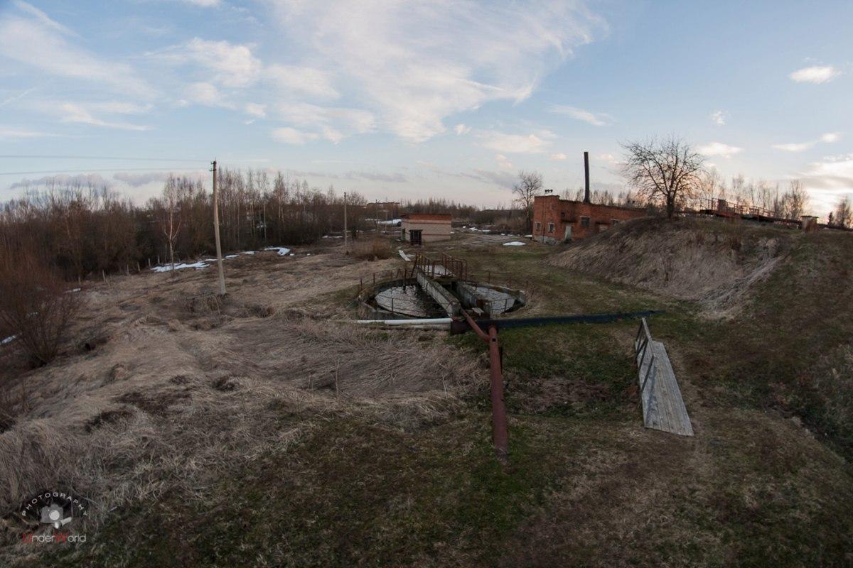 Недостроенные канализационные очистные сооружения