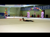 Журавлева Ангелина 2001 мяч
