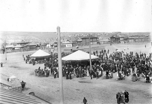 #ТК_ретро_фото Панорама города, 1900е годы
