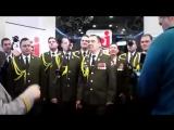 Хор МВД исполняет Get Lucky в прямом эфире/Its Time Video