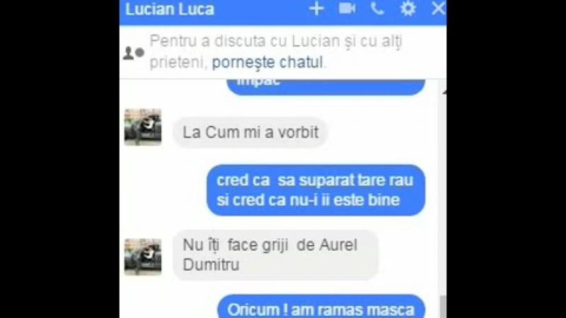 Luca vs Aurel Dumitru se injura ca la usa cortului, urmariti pina la capat