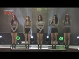 170417 (170330) Brave Girls - Deepened, Intro/Ment/Dance Off, Rollin' @ K-Force TV Visiting Train Special Show