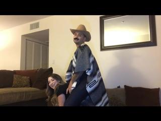 Horseback riding challenge (hilarious must watch)?