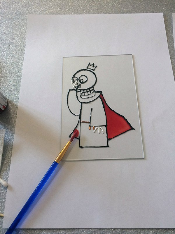 Как сделать рисунок на стекле LG9nEEf6Pno