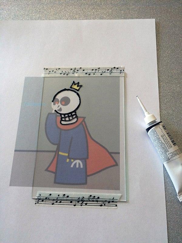 Как сделать рисунок на стекле 6zy8SikcLCE