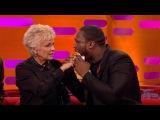 Julie Walters feels 50 Cents gun shot wounds - The Graham Norton Show Series 18 Episode 7 - BBC