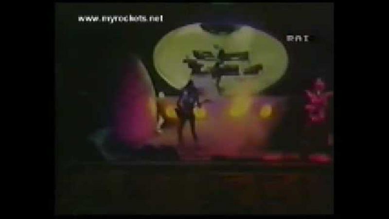 Rockets - Synthetic man - (Live in Taranto,1980)