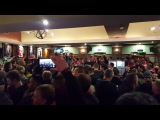 2017-02-16 UNITED Fans before Saint-Etienne match in Bishop Blaize