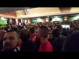 2017-02-16 UNITED Fans before Saint-Etienne match in Bishop Blize 2