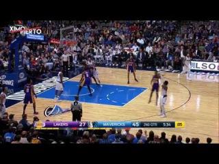 NBA FULL 2017.01.22 Даллас Маверикс vs Лос-Анджелес Лейкерс