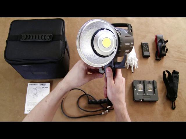 Светодиодный свет Yongnuo YN 760 обзор