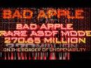 [Black MIDI] Bad Apple Rare ASDF Mode 270.65 Million (Total NO LAG)