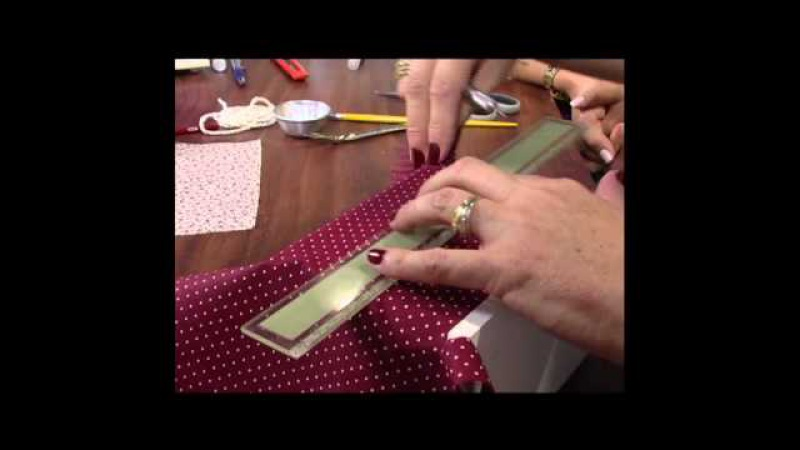 Mulher.com 01/05/2013 Claudia Niero - Mini cômoda porta jóias Parte 1